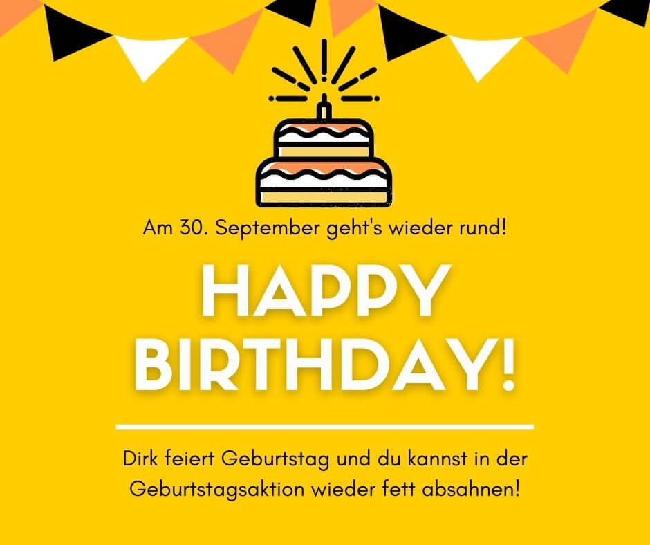 Dirk Kreuter Geburtstagsaktion 2020