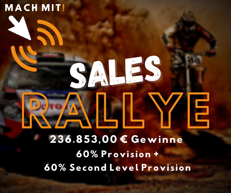 Sales Rallye