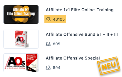 Groesster Online Kurs Affiliate Marketing